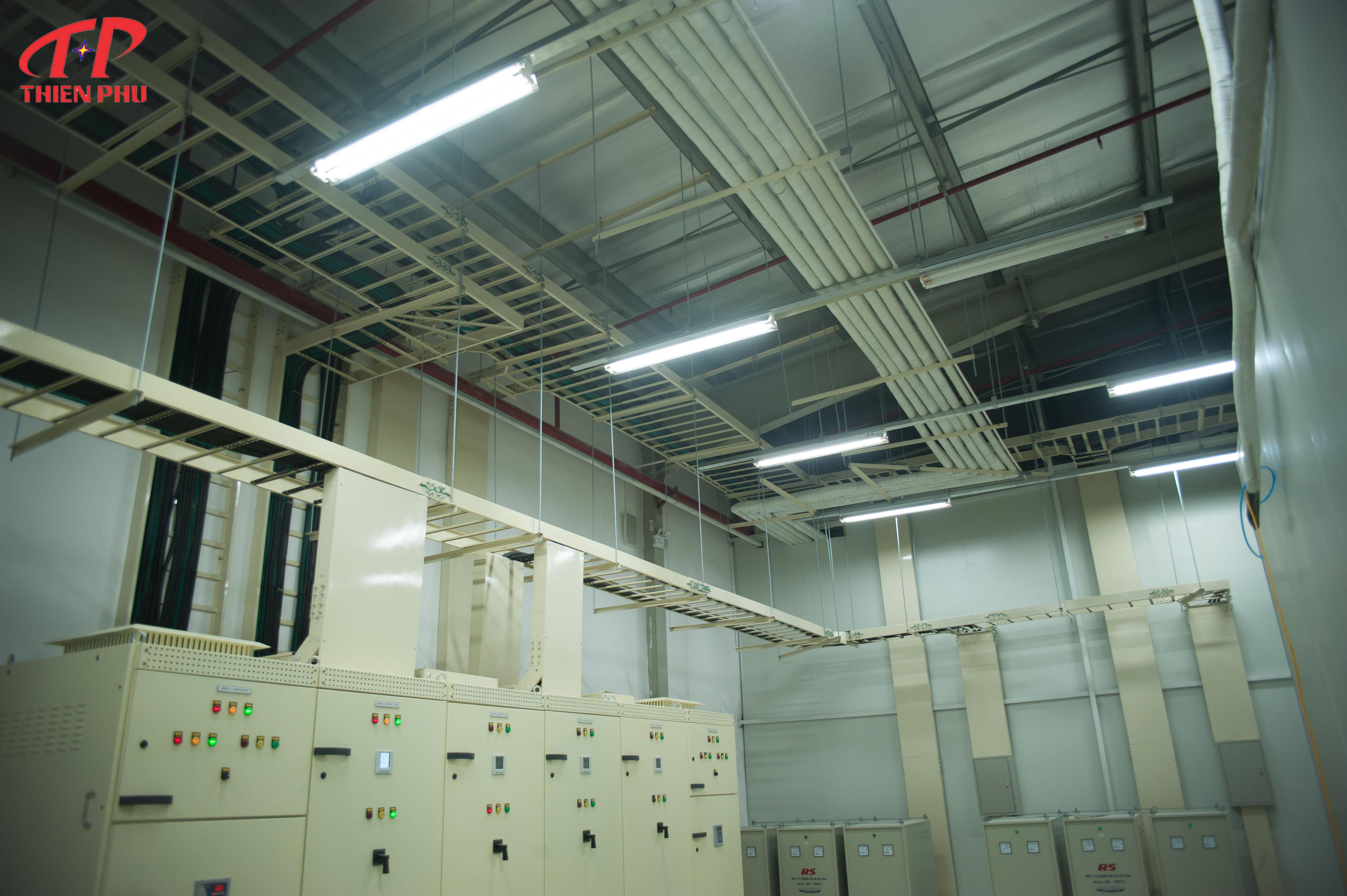 Nhận thầu thi công điện công nghiệp