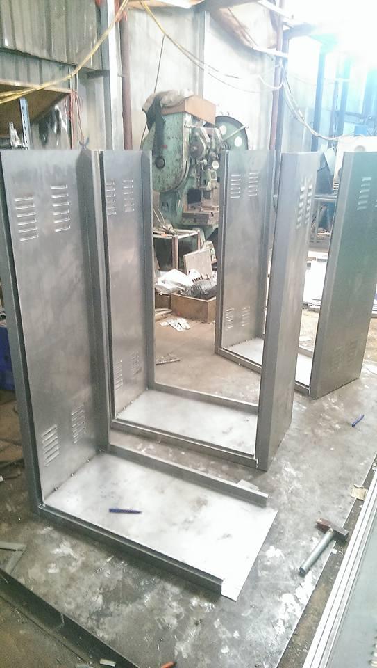 Vỏ tủ điện sơn tĩnh điện