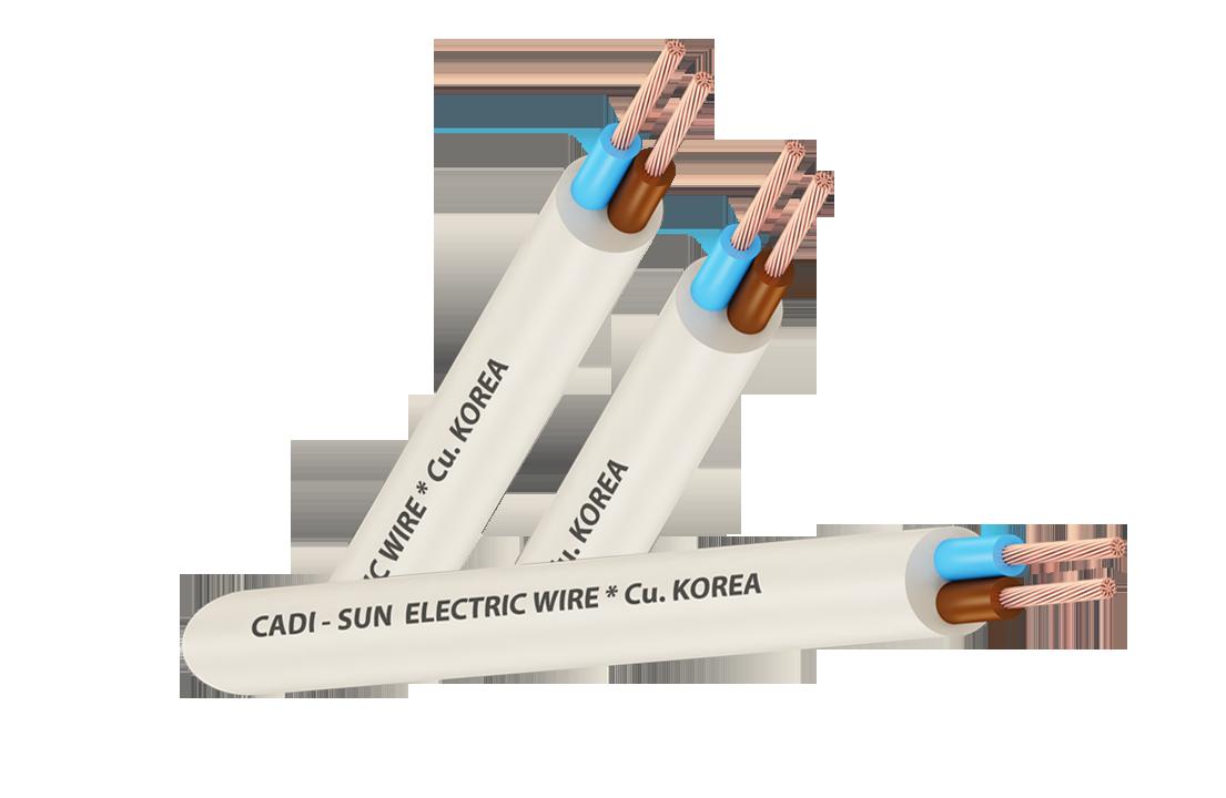 Dây cáp đồng CU/PVC/PVC  VCTF 2x