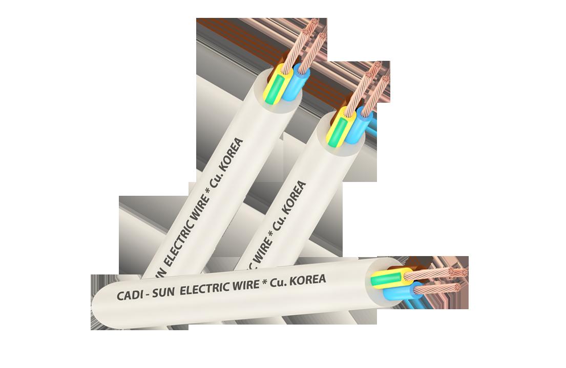 Dây cáp đồng  CU/PVC/PVC VCTF 3x