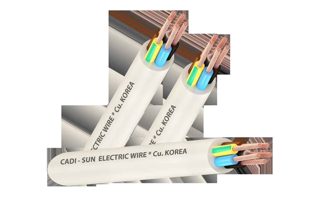 Dây cáp đồng  CU/PVC/PVC VCTF 5x