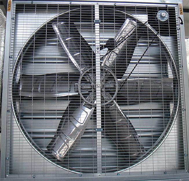 Quạt thông gió nhà xưởng 1380x1380x400